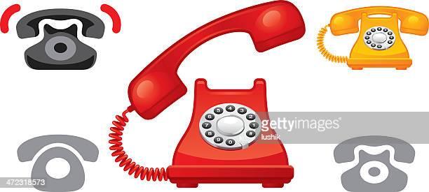 Rotary Phone icons