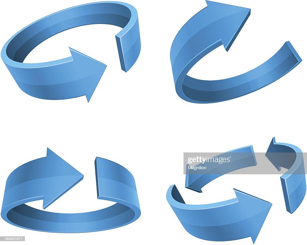 Rotation Arrows