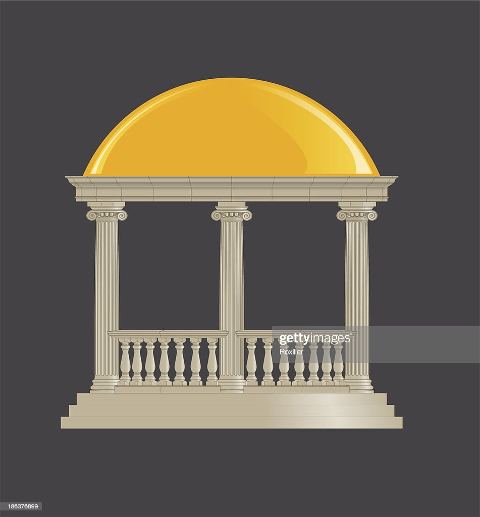 Rotunda classic, ionic order