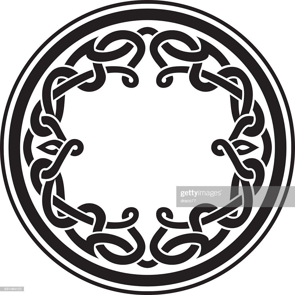 Round Celtic Ornament