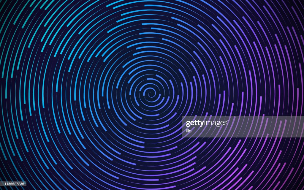 Round Circling Abstract Background : stock illustration
