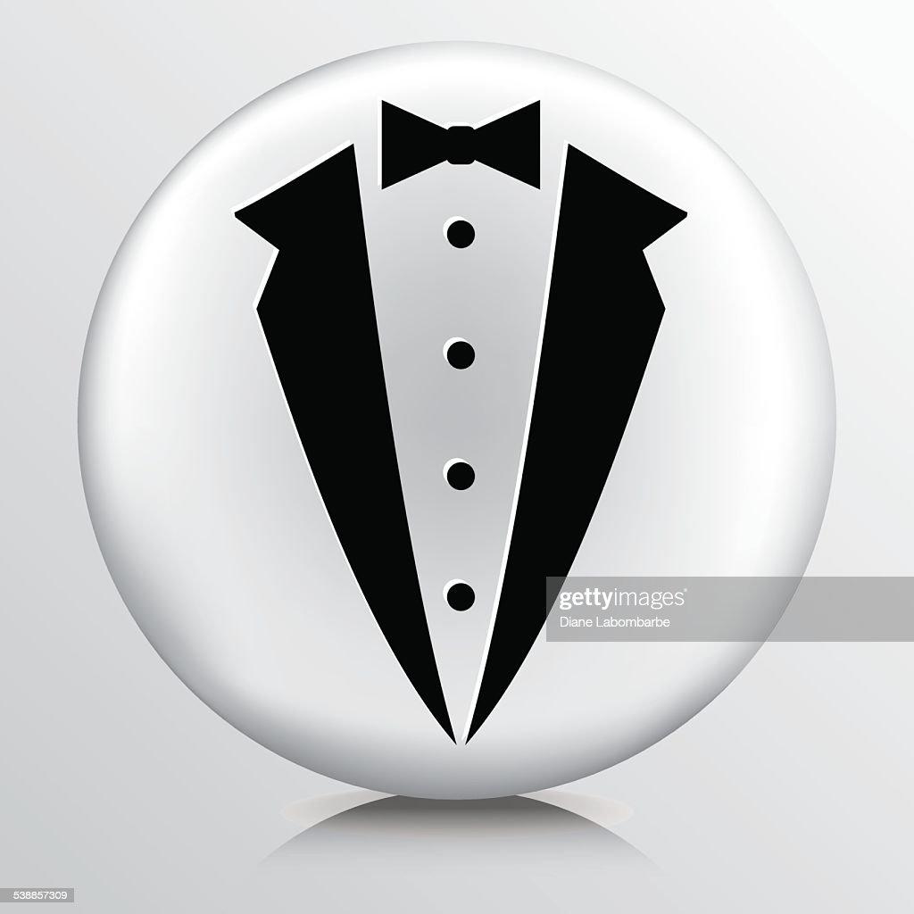 Round Icon With Tuxedo