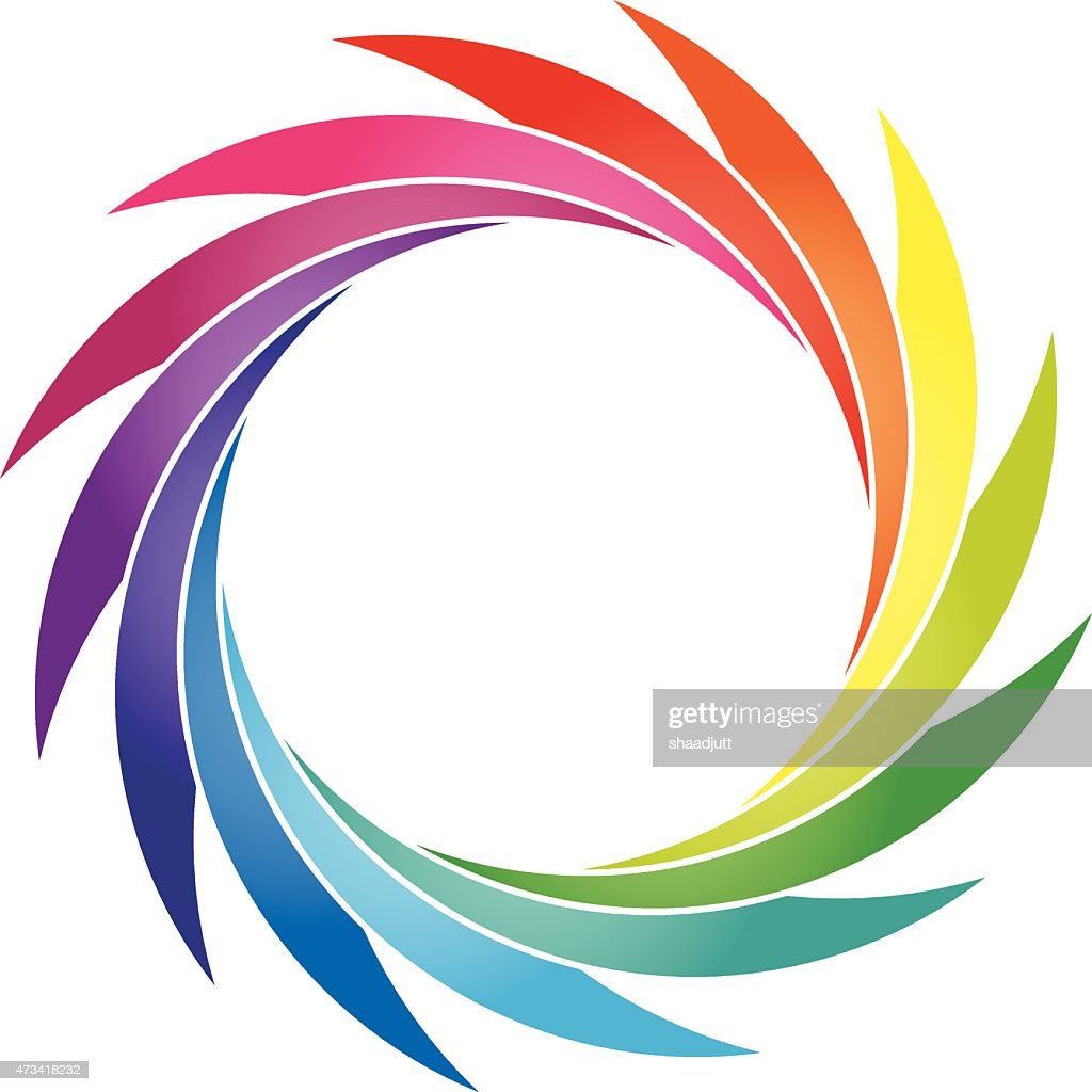 Round Petals color wheel