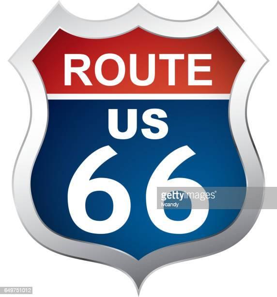 Route 66 symbol