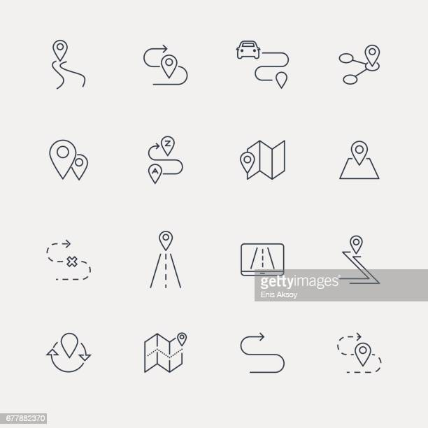 Route Icons - Line Series