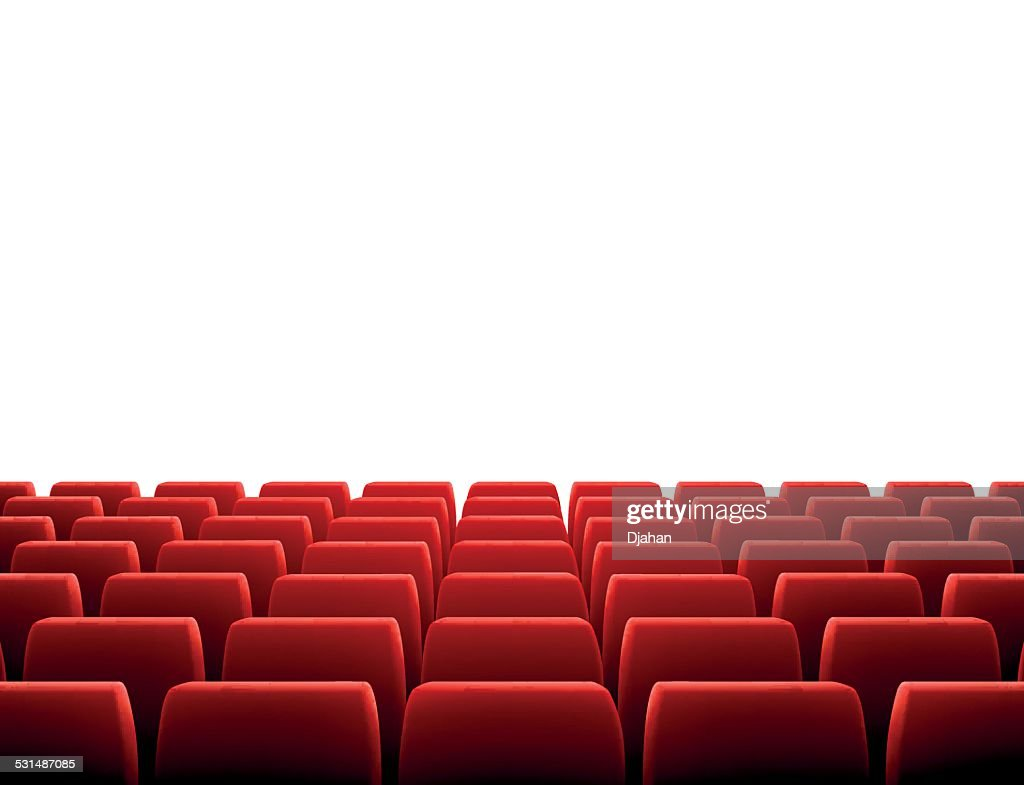 Row of Seats in Theatre