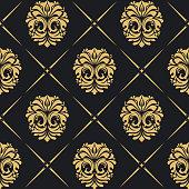 Royal background baroque