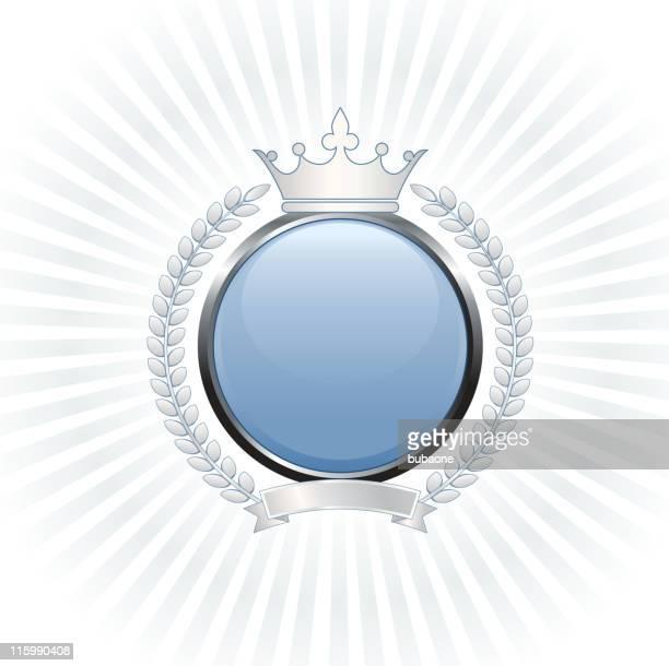 royal blank royalty free vector art - tiara stock illustrations, clip art, cartoons, & icons