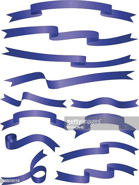 Royal Blue Ribbons