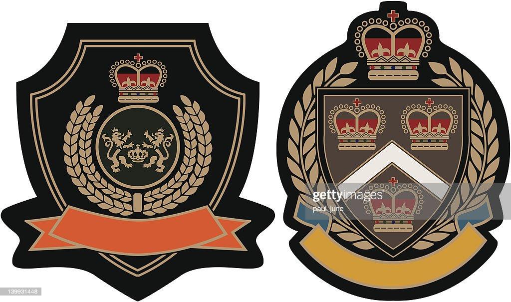 royal crown emblem badge