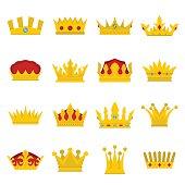 Royal crowns vector illustration se