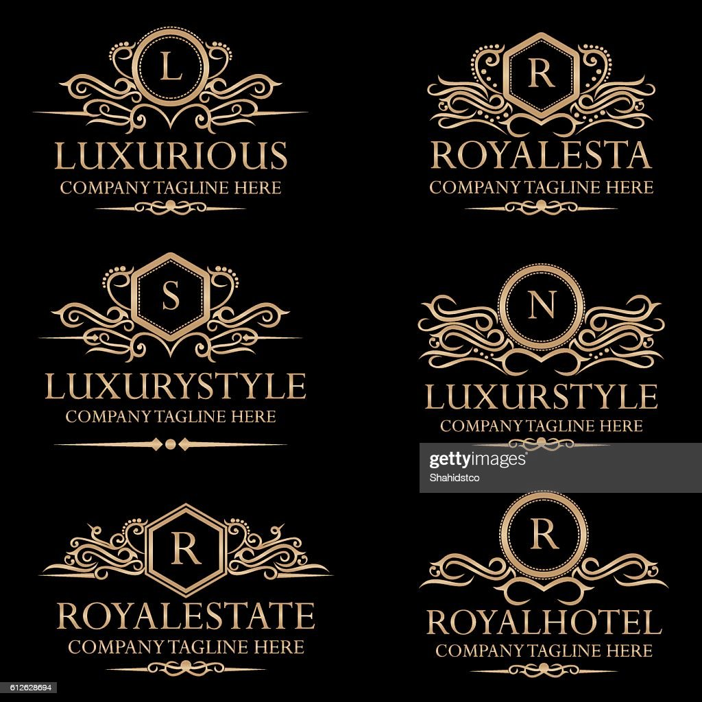 Royal Luxury Crest Logos and Badges
