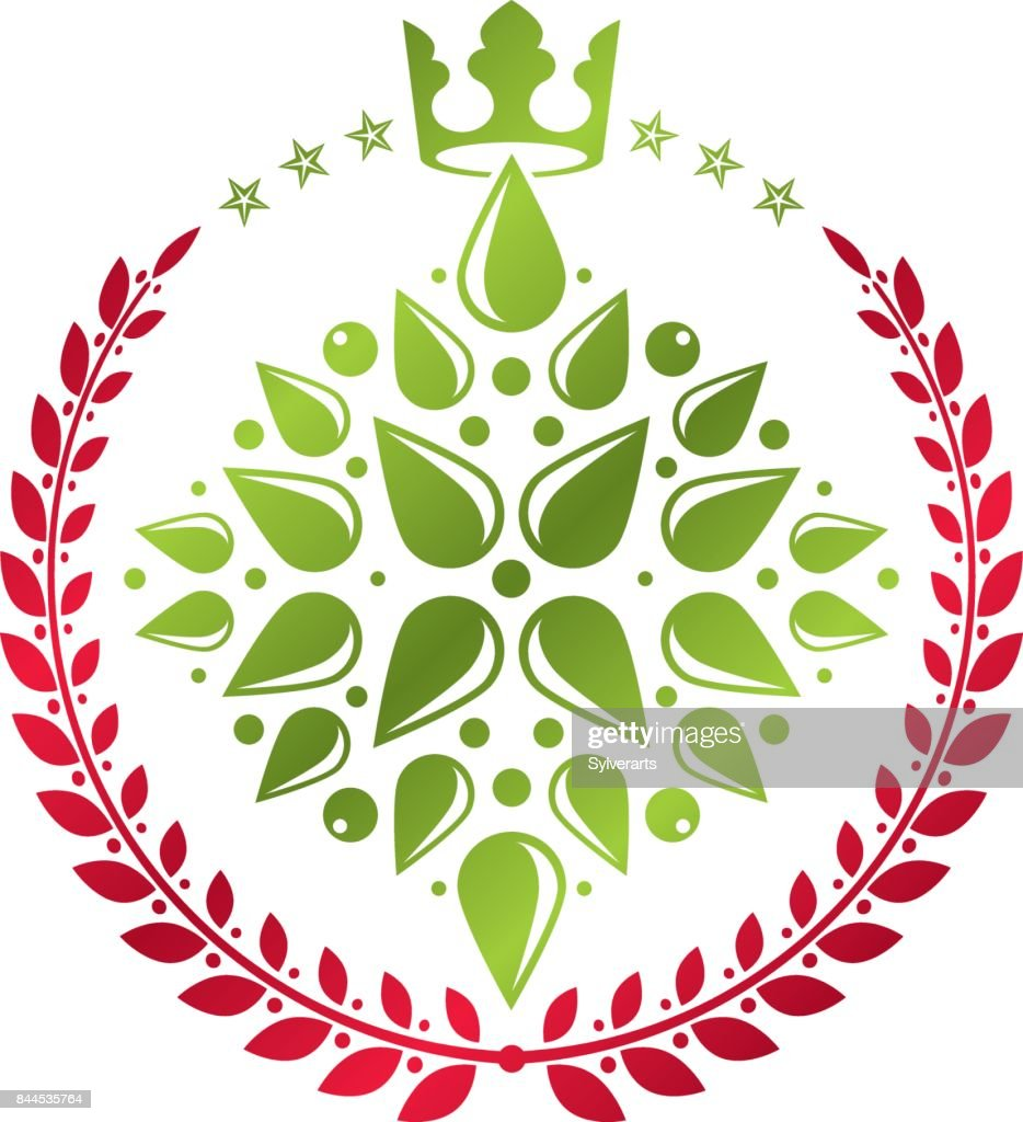 Royal symbol lily flower graphic emblem composed with king crown royal symbol lily flower graphic emblem composed with king crown heraldic vector design element izmirmasajfo