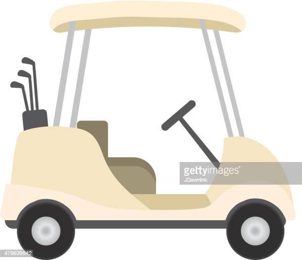 Golf Cart Stock Illustrations And Cartoons