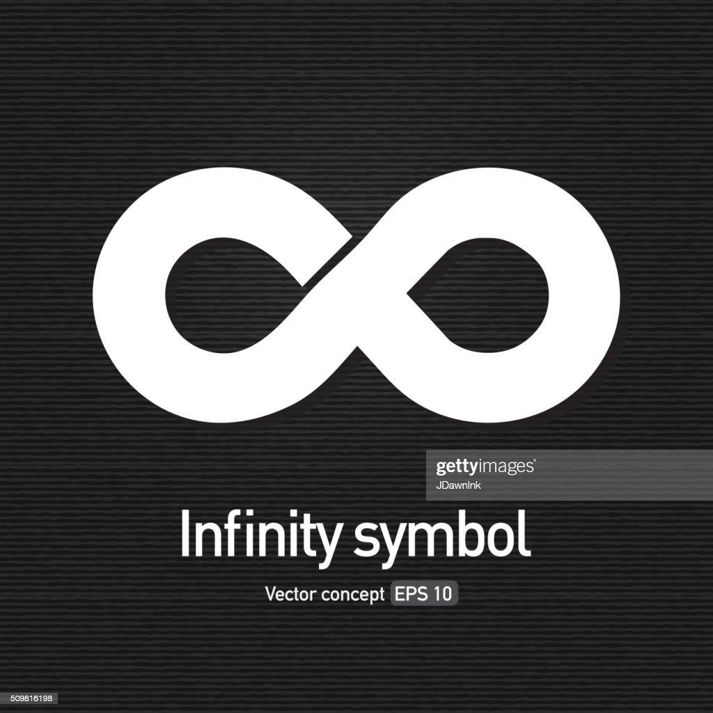 Royalty free infinity symbol icon concept : stock illustration