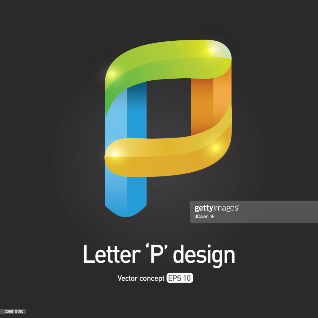 Royalty Free Letter P Symbol Icon Concept Vector Art Getty Images