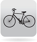 Royalty free vintage bicycle icon