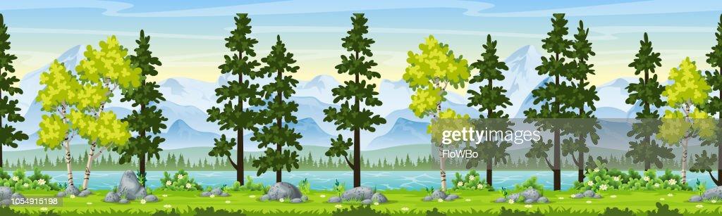 Rual Summer Landscape