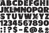 Rubber Stamp Alphabet