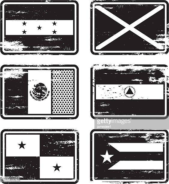 Rubber Stamp Flags