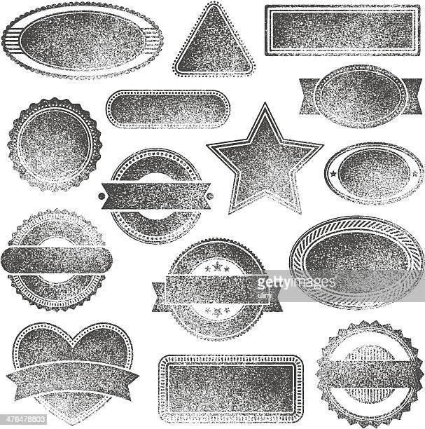 Gummi-Briefmarken