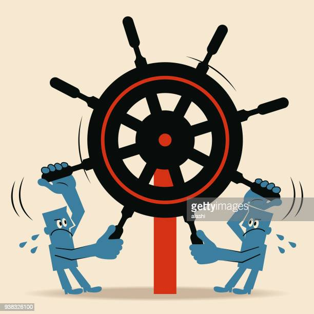 rudder conflicting with each other (decision making ; policy making)