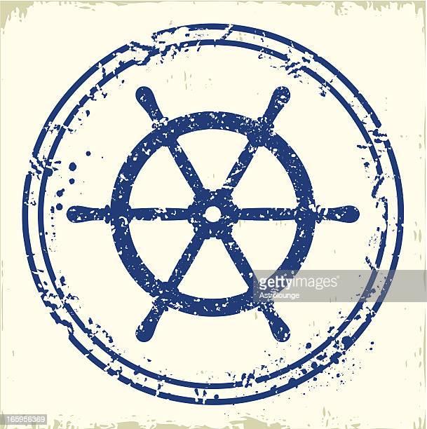 Rudder stamp