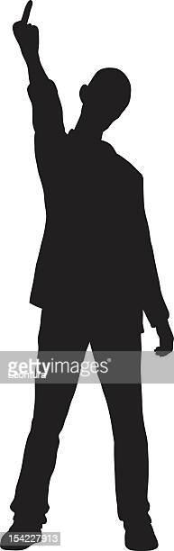 illustrations, cliparts, dessins animés et icônes de homme impoli - doigt dhonneur