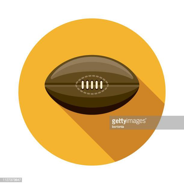 rugby australia icon - rugby ball stock illustrations, clip art, cartoons, & icons