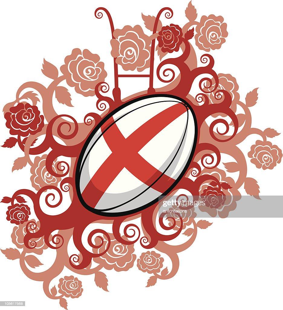 Rugby Ball Emblem England
