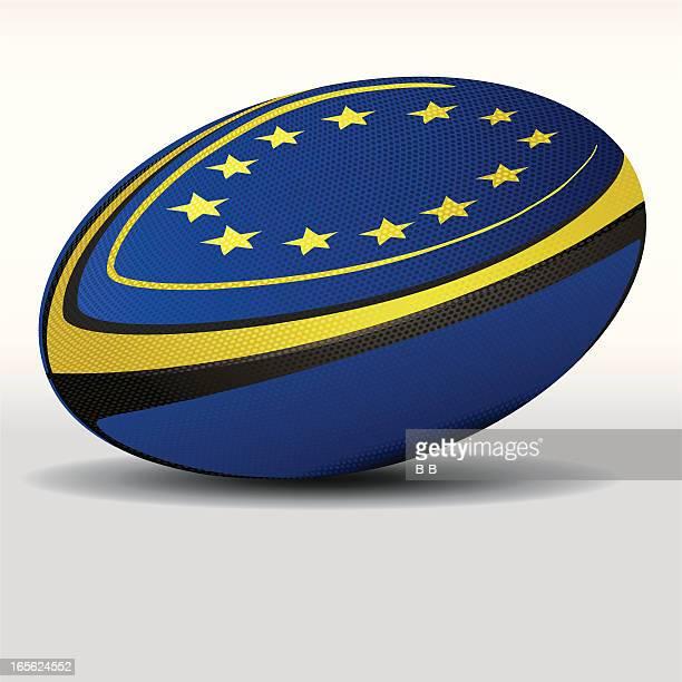 rugby ball-european union - rugby union 幅插畫檔、美工圖案、卡通及圖標
