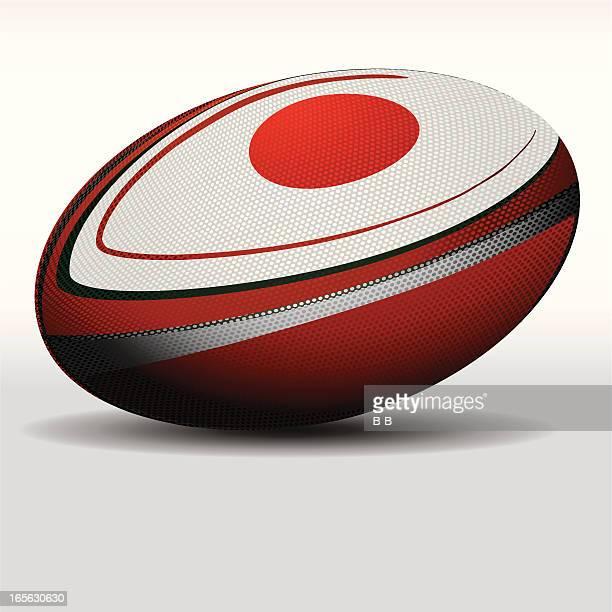 ラグビーボール-日本 - ラグビーボール点のイラスト素材/クリップアート素材/マンガ素材/アイコン素材