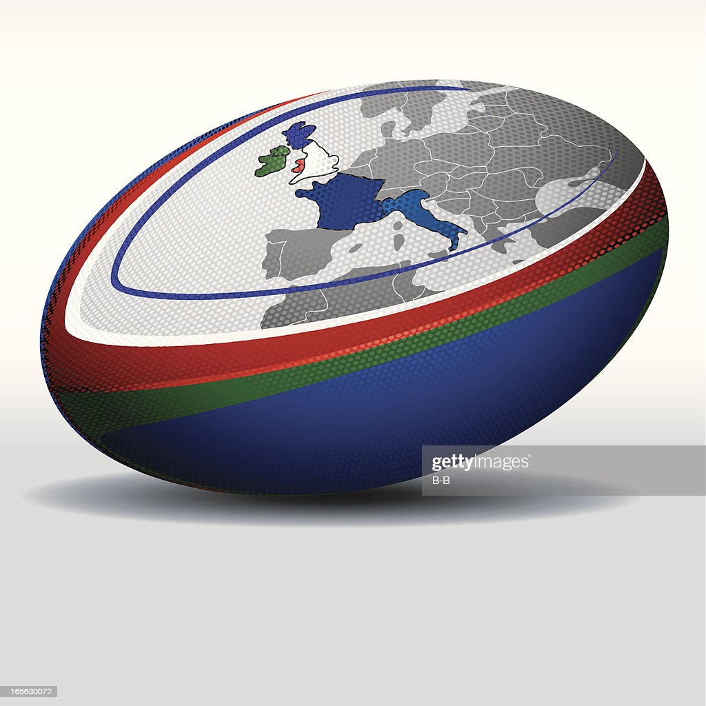 Rugby ball-Six Nations