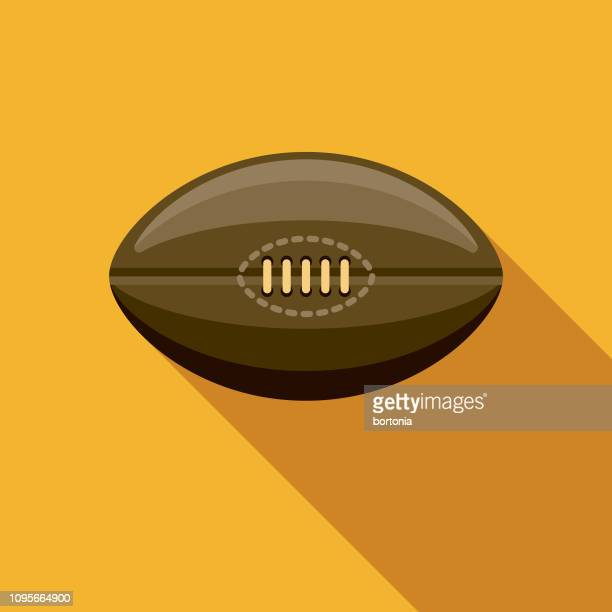 rugby ireland icon - rugby ball stock illustrations