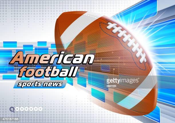 stockillustraties, clipart, cartoons en iconen met rugby - rush american football