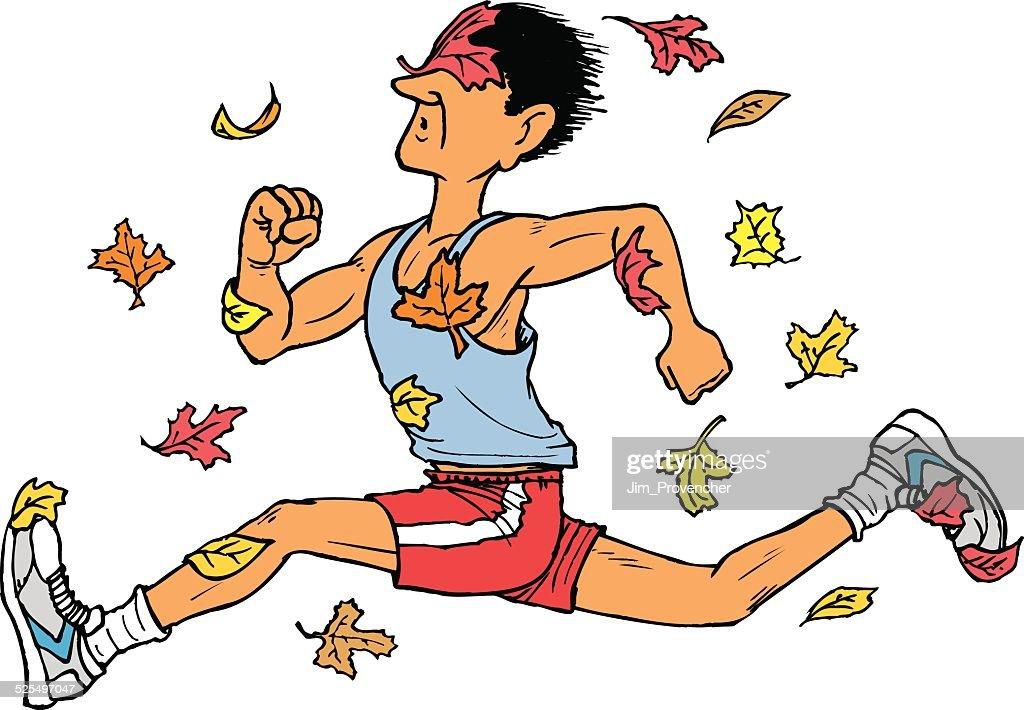 Runner in Autumn