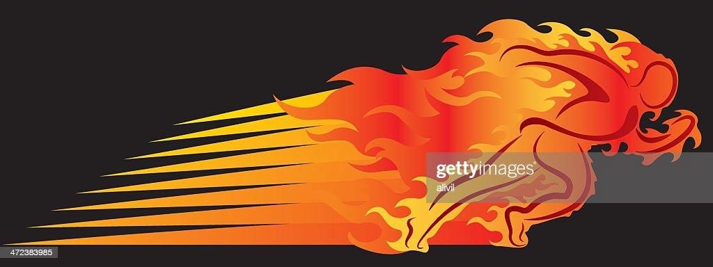 Runner On Fire