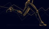 runner-triangles-line