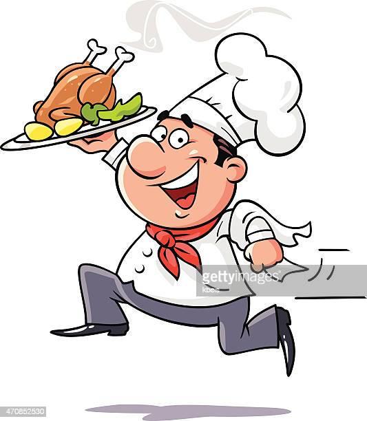 Restaurant Commercial Kitchen Clip Art Stock Illustrations