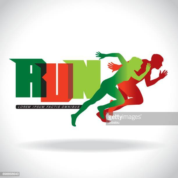 running clip art template - track and field stock illustrations, clip art, cartoons, & icons