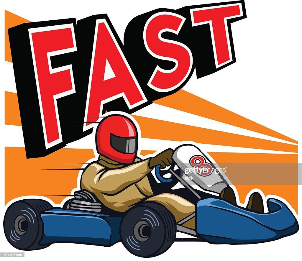 Running Fast Gokart