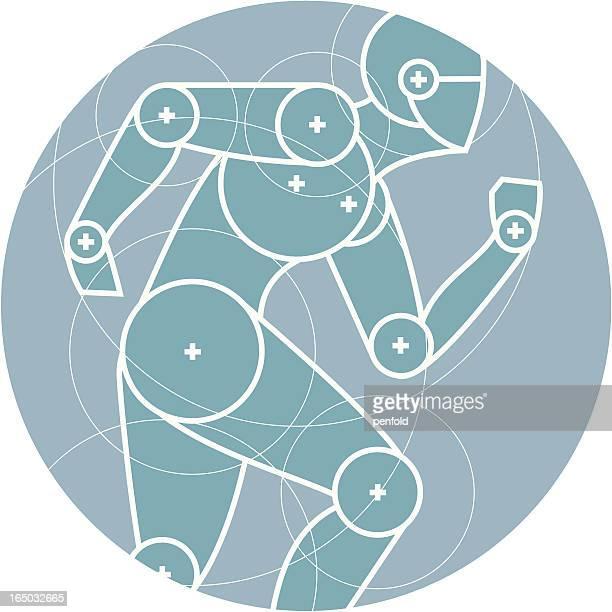 ランニングのサークル - 人間工学点のイラスト素材/クリップアート素材/マンガ素材/アイコン素材