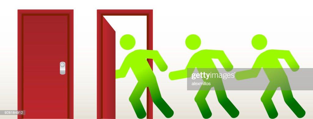 Running into an open door