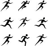Running Man Icons