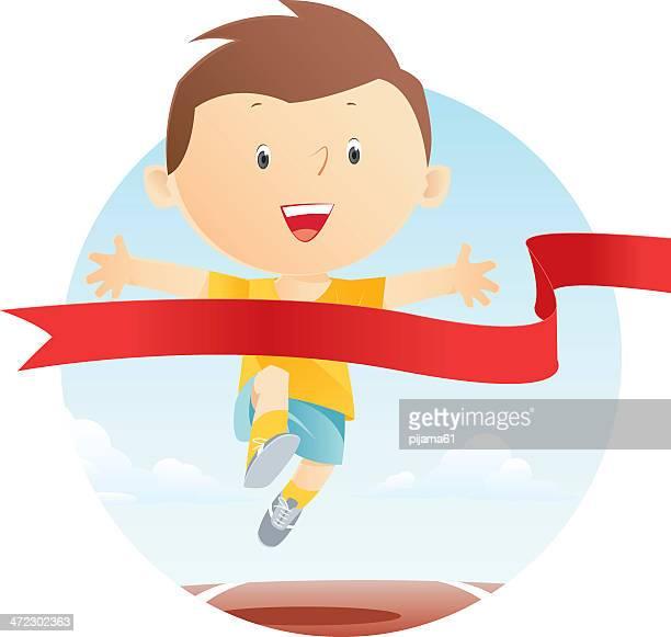 ilustraciones, imágenes clip art, dibujos animados e iconos de stock de de correr - pista de atletismo