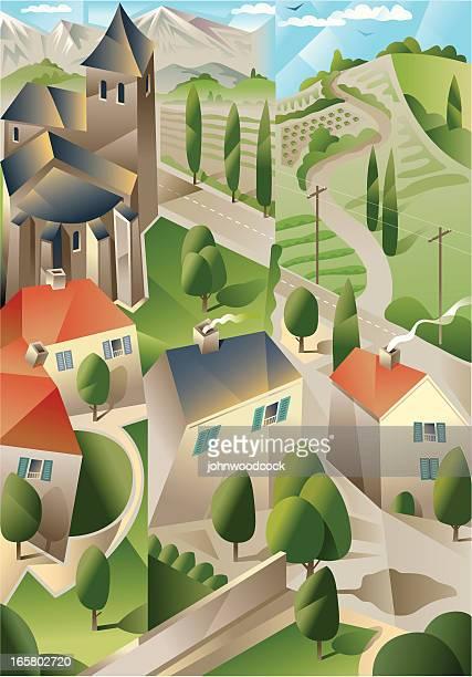 Rural cubism