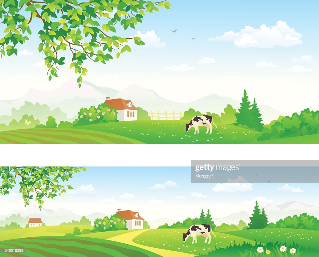 Rural panoramas
