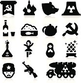 Russian Culture Icons