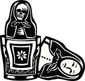 Russian Doll Death Inside