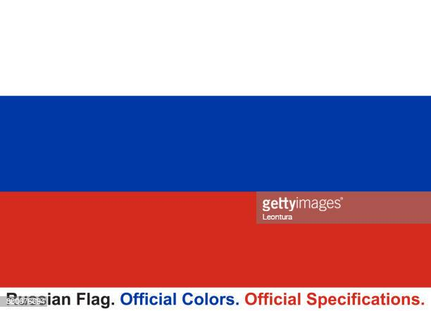 Russian Flag (Official Colors, Official Specifications)